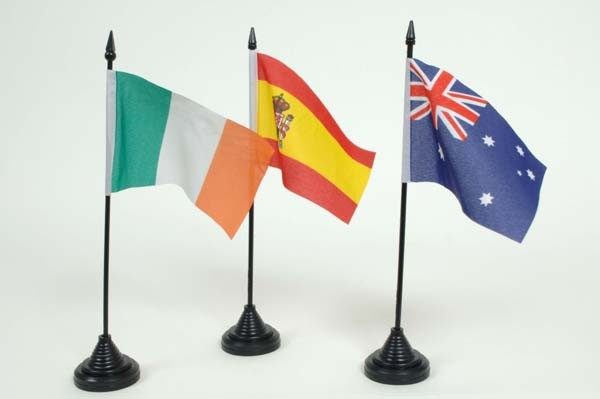 International Table Flags