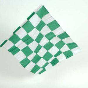 "Small 24""x18"" Chequered Handwaving Flags"