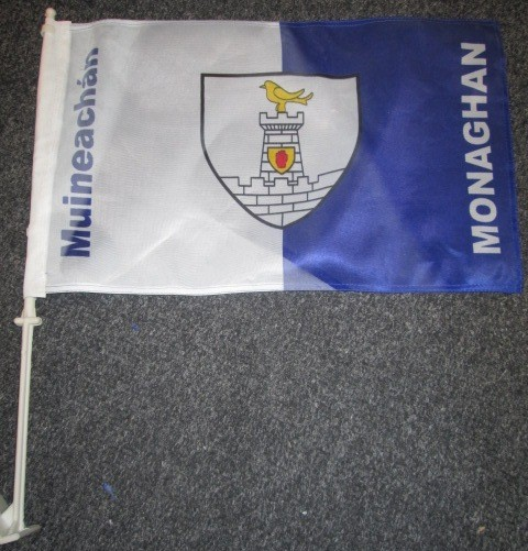 County Crested Car Flags