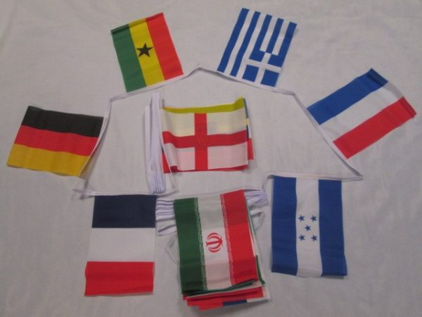 World Cup Bunting 20 metre