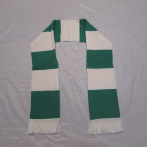 Green & White Scarf