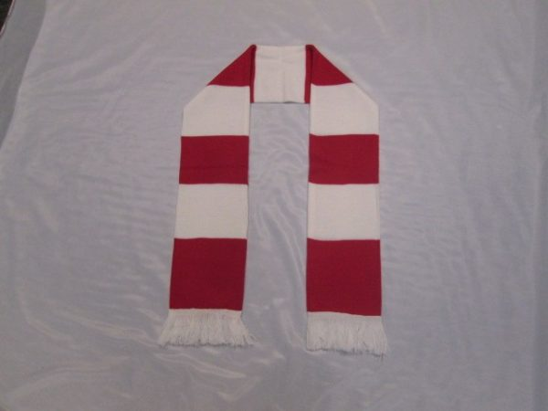 Red & White Scarf