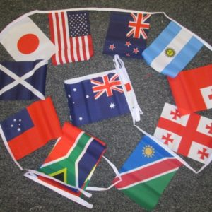 Rugby World Cup 6 metre Bunting