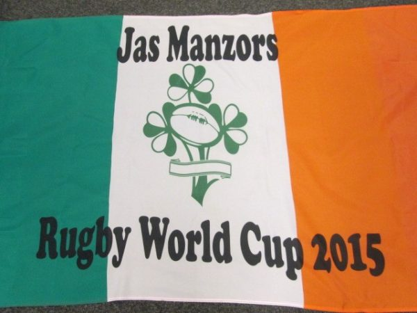 Rugby World Cup 5ftx3ft Custom Flag