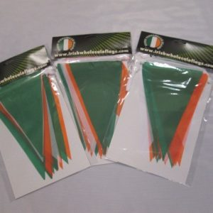 Irish Tricolour Bunting