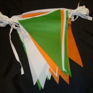 Irish Bunting Custom Made