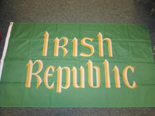 Irish Republic 5ftx3ft Light Flag