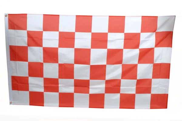 Large Checkered Flags